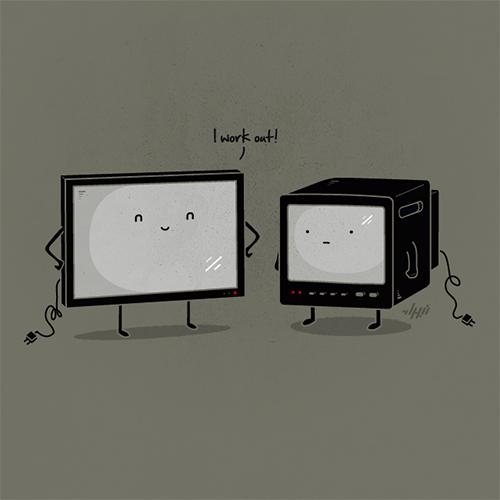 Bộ sưu tập hình minh họa hài hước của họa sĩ Nabhan Abdullatif -19