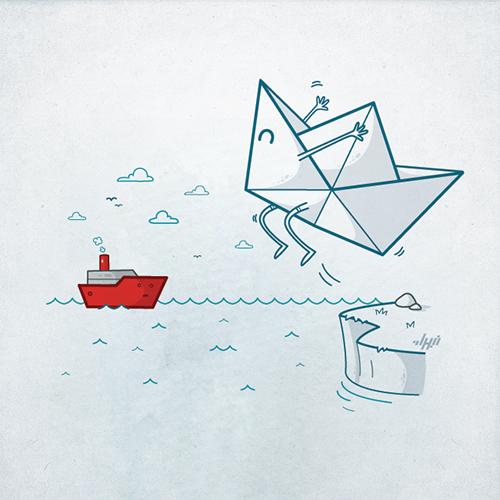 Bộ sưu tập hình minh họa hài hước của họa sĩ Nabhan Abdullatif -24