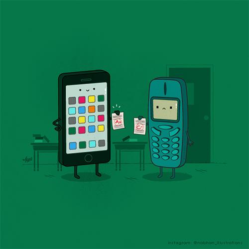 Bộ sưu tập hình minh họa hài hước của họa sĩ Nabhan Abdullatif -8
