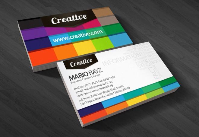 Những thiết kế Name Card đa sắc màu-1