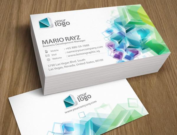 Những thiết kế Name Card đa sắc màu-11