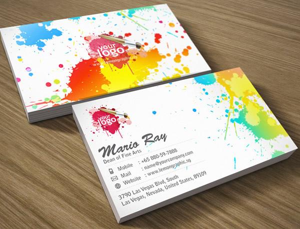 Những thiết kế Name Card đa sắc màu-12