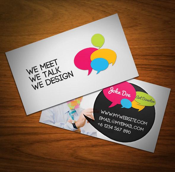 Những thiết kế Name Card đa sắc màu-14
