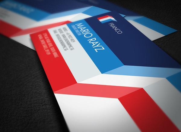 Những thiết kế Name Card đa sắc màu-16
