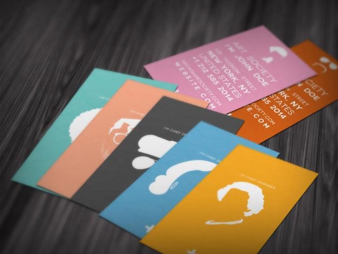 Những thiết kế Name Card đa sắc màu-17