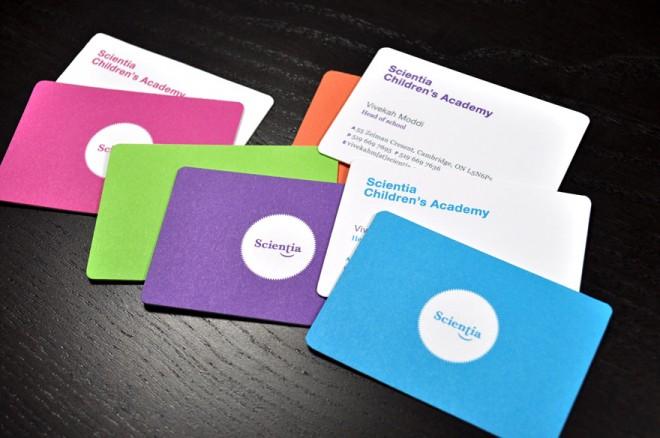 Những thiết kế Name Card đa sắc màu-19