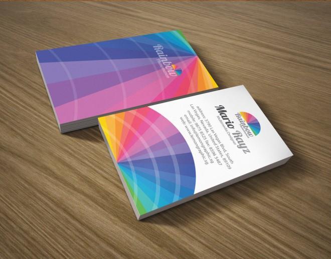Những thiết kế Name Card đa sắc màu-2