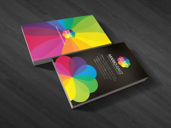 Những thiết kế Name Card đa sắc màu-4