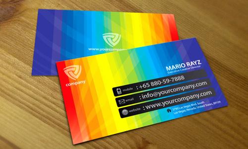Những thiết kế Name Card đa sắc màu-5