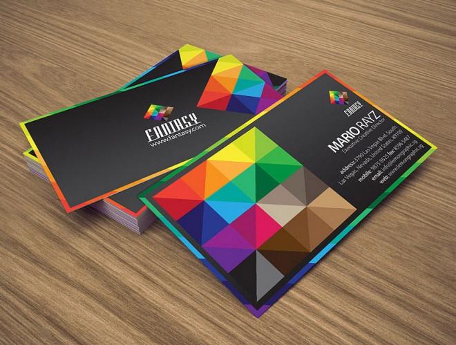 Những thiết kế Name Card đa sắc màu-6