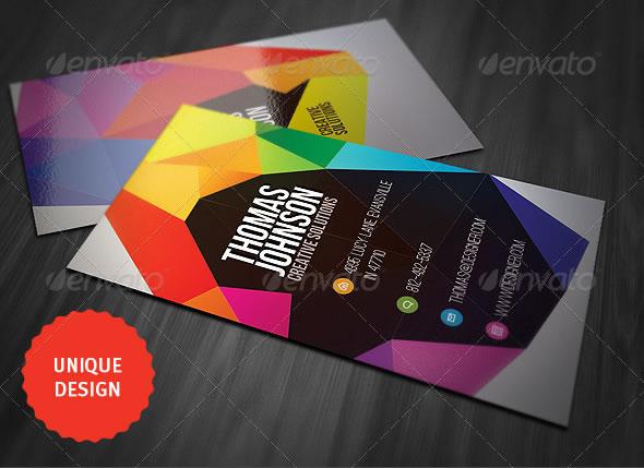 Những thiết kế Name Card đa sắc màu-8