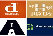 Bộ sưu tập Letter Logos giàu tính sáng tạo (PII)