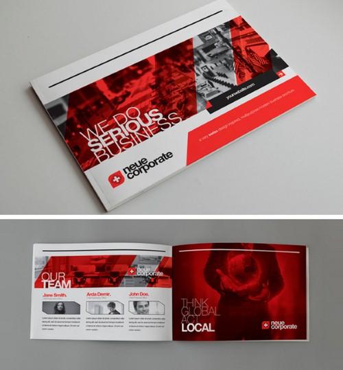 Những thiết kế Brochure sáng tạo không thể bỏ lỡ 11