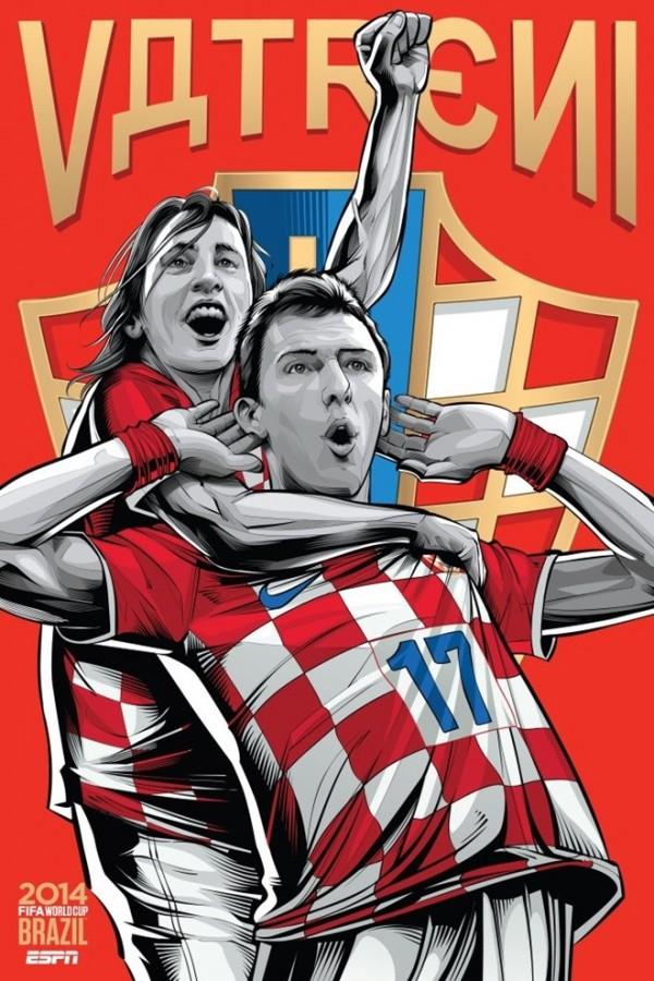 Sôi động cùng Poster cổ động World Cup 2014 -11