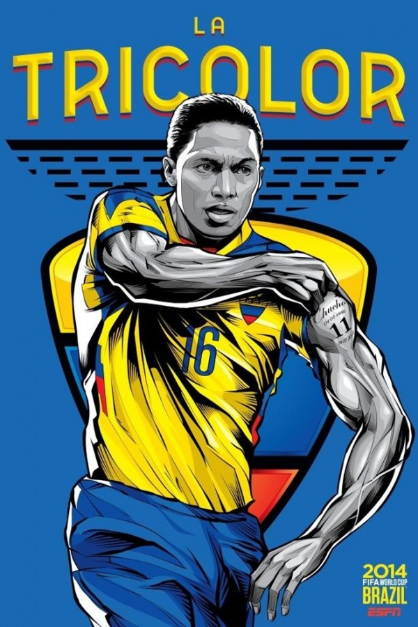 Sôi động cùng Poster cổ động World Cup 2014 -12