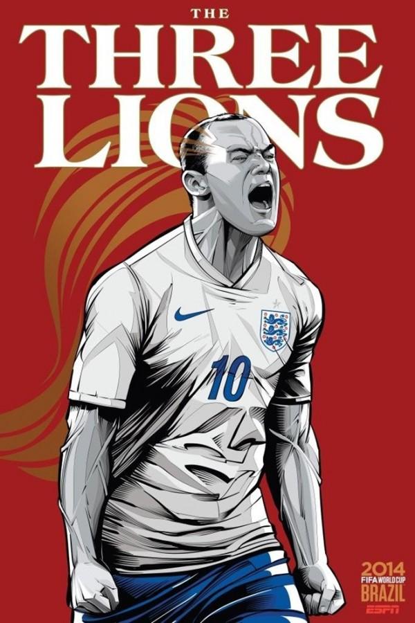 Sôi động cùng Poster cổ động World Cup 2014 -13