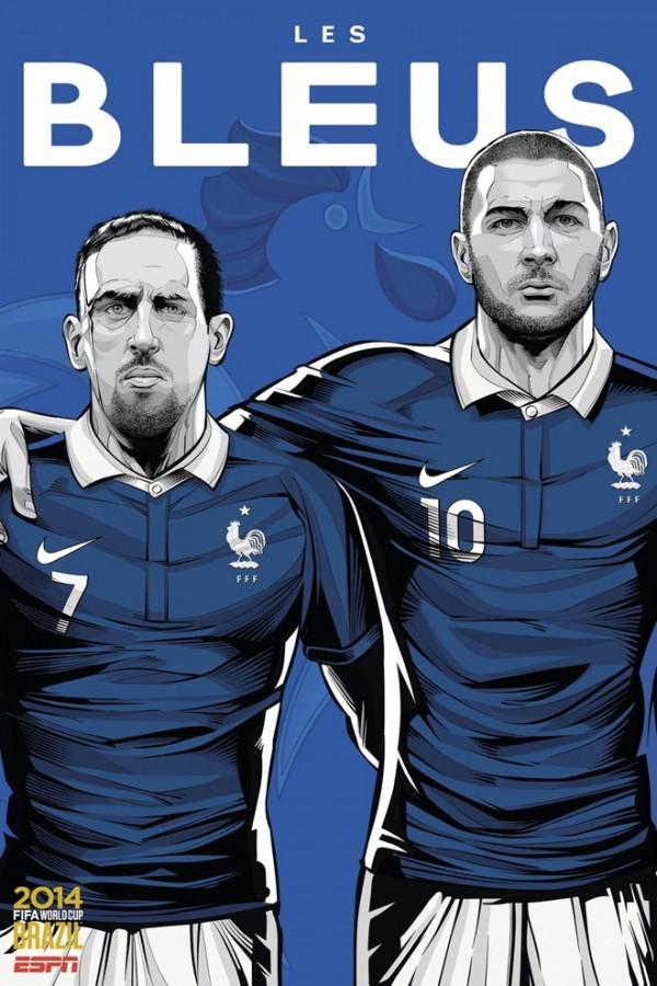 Sôi động cùng Poster cổ động World Cup 2014 -14