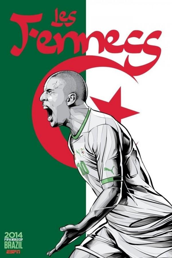 Sôi động cùng Poster cổ động World Cup 2014 -1