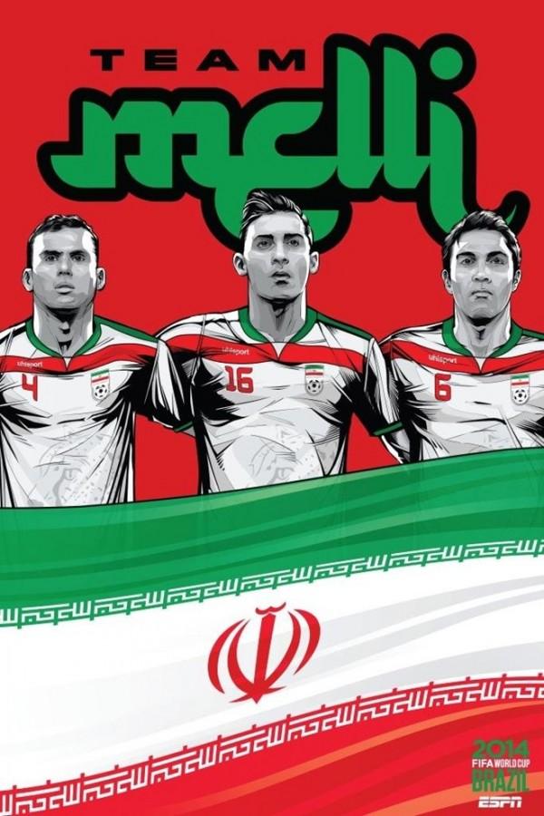 Sôi động cùng Poster cổ động World Cup 2014 -19