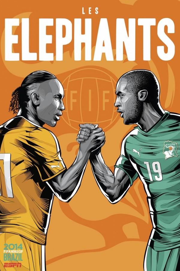 Sôi động cùng Poster cổ động World Cup 2014 -21