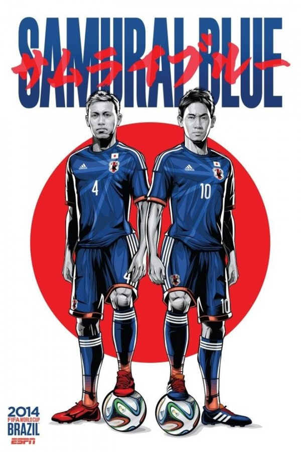 Sôi động cùng Poster cổ động World Cup 2014 -22