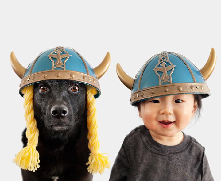 """Tình bạn """"tuyệt đẹp"""" giữa cậu bé và cún cưng -2"""