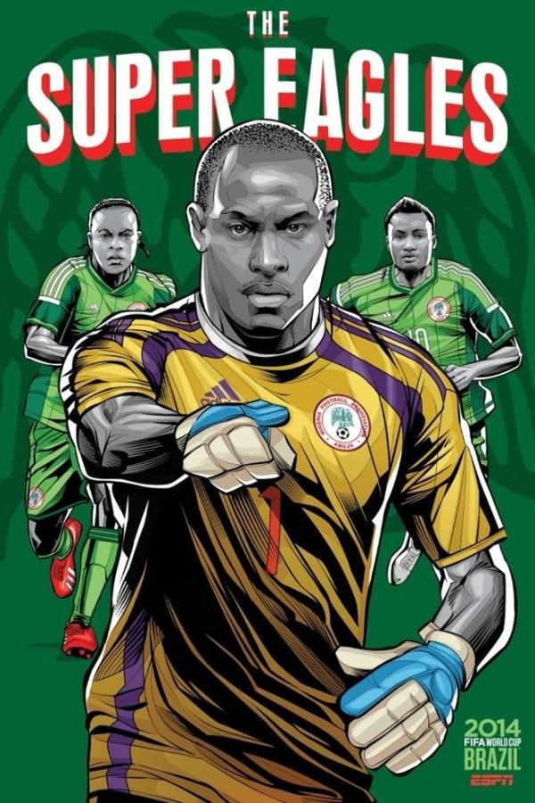 Sôi động cùng Poster cổ động World Cup 2014 -25