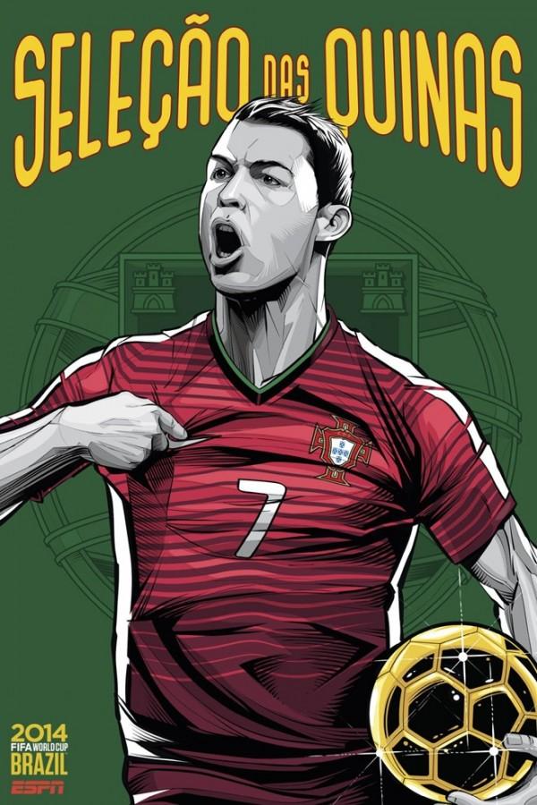 Sôi động cùng Poster cổ động World Cup 2014 -26