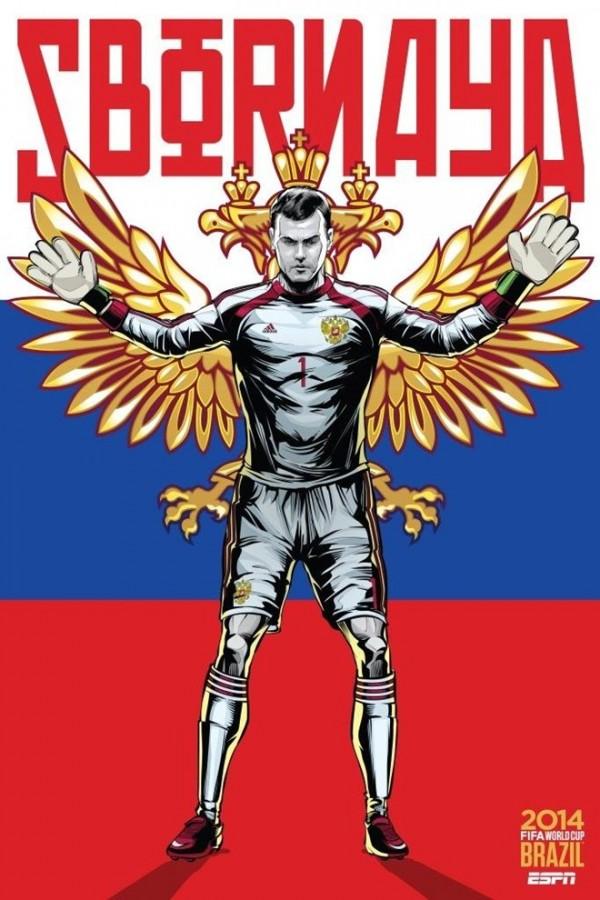 Sôi động cùng Poster cổ động World Cup 2014 -27
