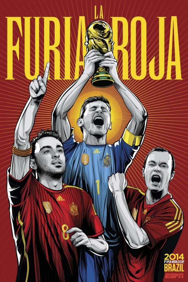 Sôi động cùng Poster cổ động World Cup 2014 -28