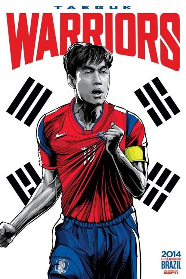 Sôi động cùng Poster cổ động World Cup 2014 -29