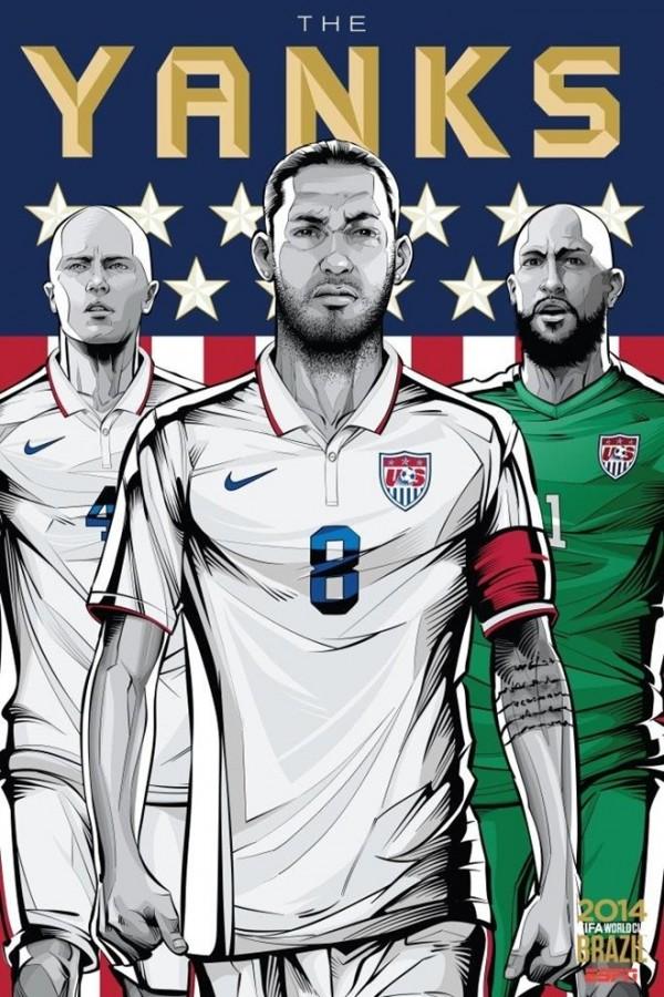 Sôi động cùng Poster cổ động World Cup 2014 -31