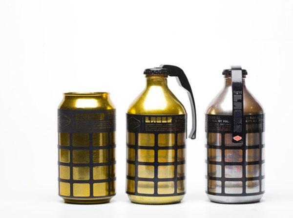 Những thiết kế tràn đầy năng lượng cho các thương hiệu Bia nổi tiếng-3