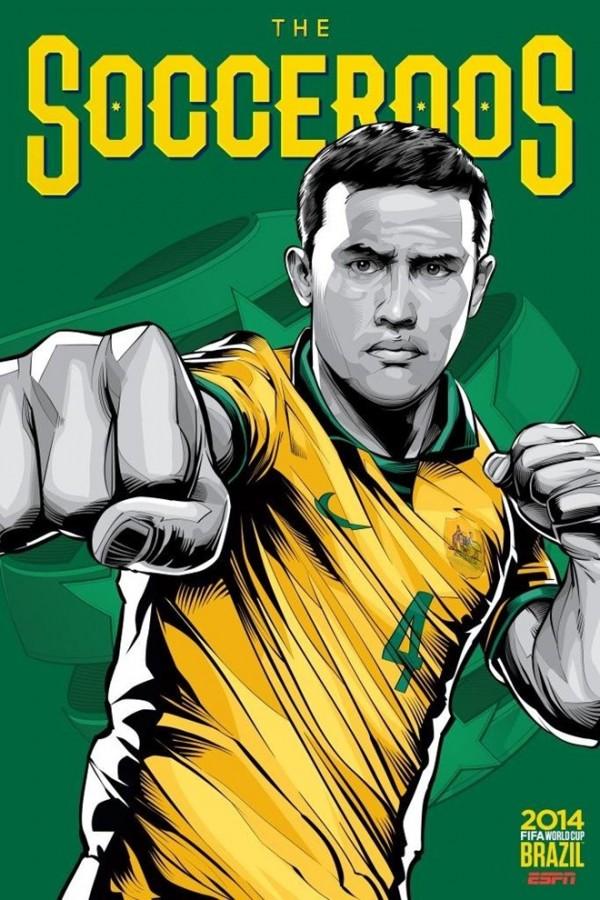 Sôi động cùng Poster cổ động World Cup 2014 -3