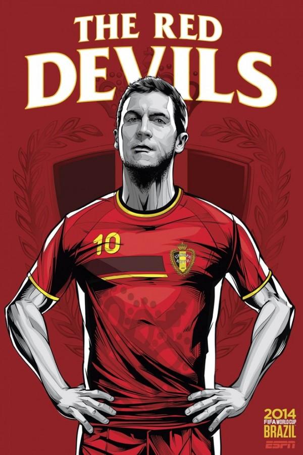 Sôi động cùng Poster cổ động World Cup 2014 -4
