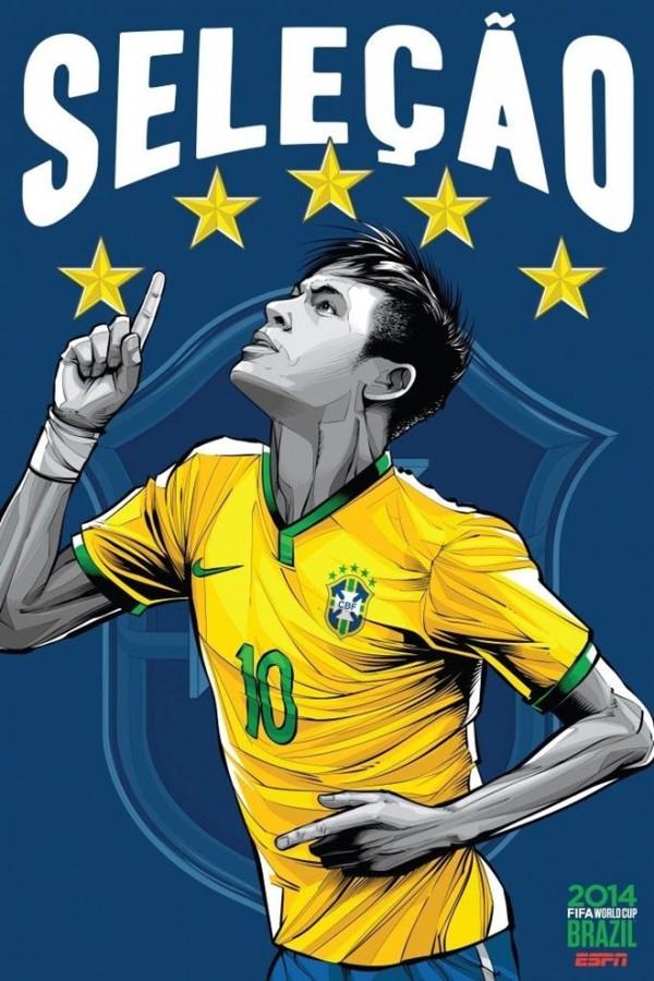 Sôi động cùng Poster cổ động World Cup 2014 -6