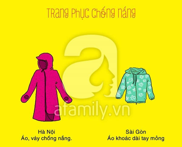 Hà Nội, Sài Gòn và những khác biệt hài hước mùa nắng nóng-6