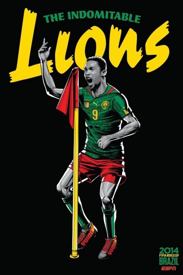 Sôi động cùng Poster cổ động World Cup 2014 -7