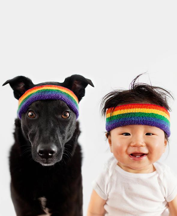 """Tình bạn """"tuyệt đẹp"""" giữa cậu bé và cún cưng -7"""