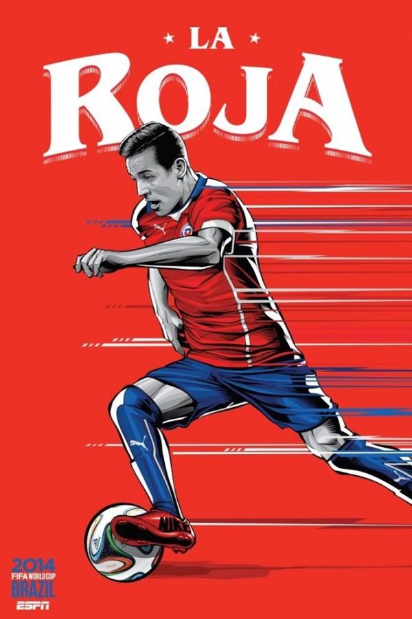 Sôi động cùng Poster cổ động World Cup 2014 -8