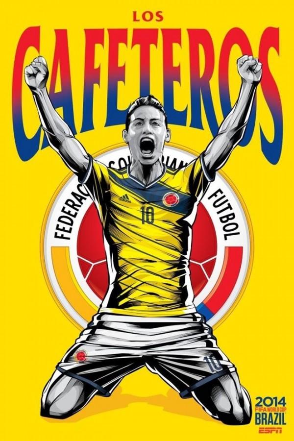 Sôi động cùng Poster cổ động World Cup 2014 -9