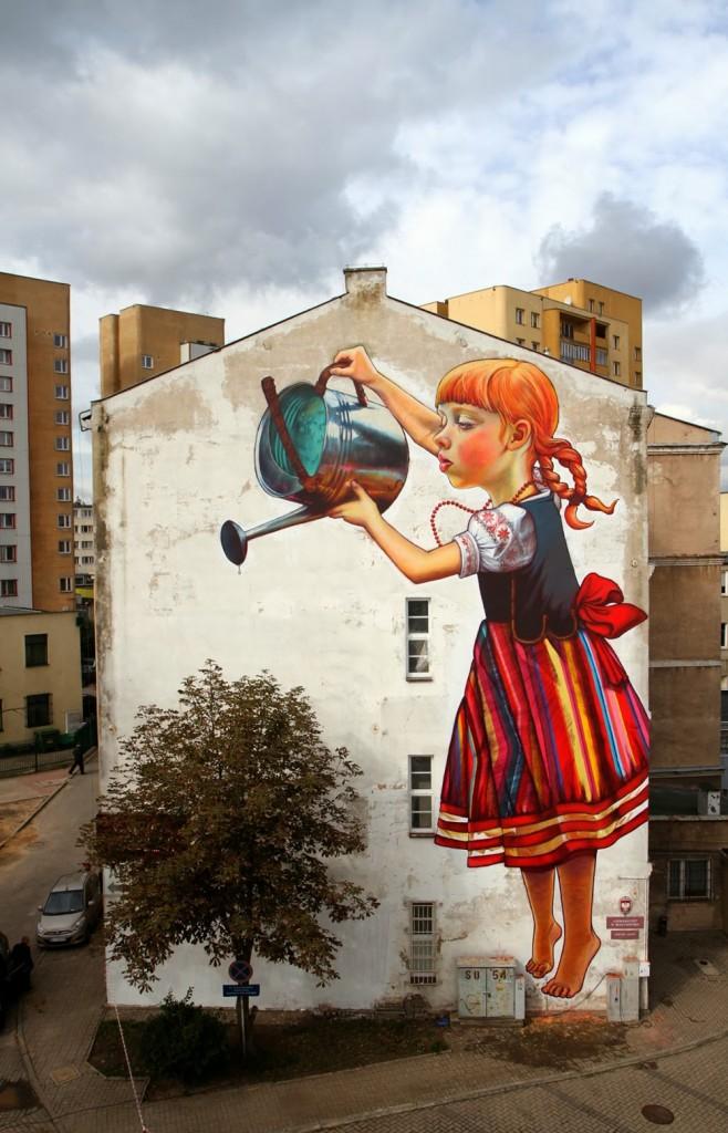 Natalia Rak, họa sĩ nổi tiếng của nghệ thuật đường phố-1