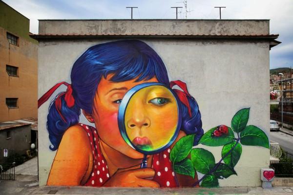 Natalia Rak, họa sĩ nổi tiếng của nghệ thuật đường phố-2