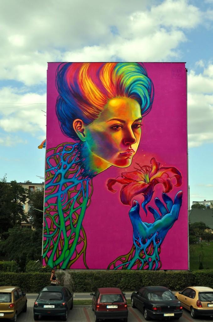 Natalia Rak, họa sĩ nổi tiếng của nghệ thuật đường phố-4