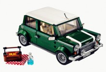 Khi Mini Cooper tuyệt đẹp được thiết kế từ Lego