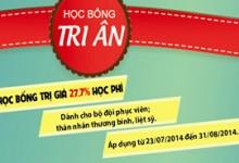 Hanoi- Arena hướng về 67 năm Ngày Thương binh, Liệt sĩ với Học bổng tri ân