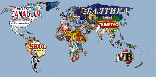 Những tấm bản đồ siêu sáng tạo