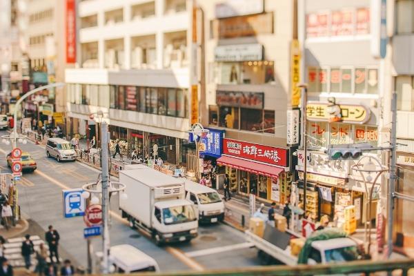 Kỹ thuật Tilt-shift và những hình ảnh thu nhỏ sống động của Tokyo-1