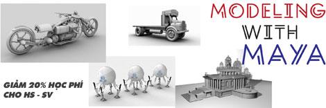 Khoá Học Làm phim 3D bằng MAYA