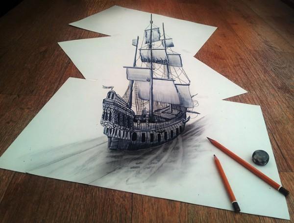 Những tác phẩm 3D sinh động qua nét vẽ chì sáng tạo-10